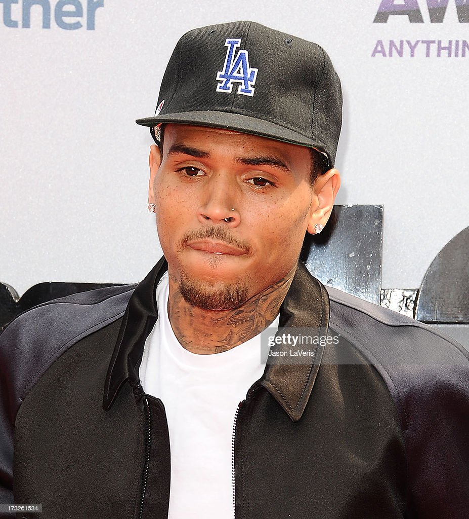 Singer Chris Brown attends the 2013 BET Awards at Nokia Theatre L.A. Live on June 30, 2013 in Los Angeles, California.