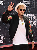 Singer Chris Brown attends the 2015 BET Awards at the Microsoft Theater on June 28 2015 in Los Angeles California