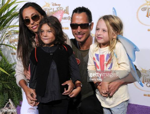 singer chris cornell and his wife vicky karayiannis and their photo d ...