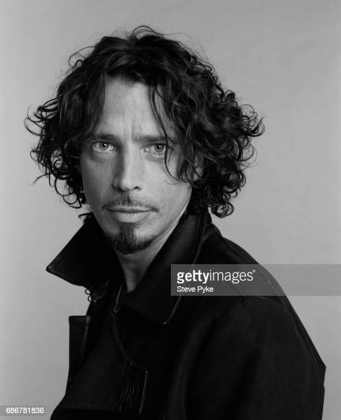 Singer Chris Cornell photographed for Entertainment Weekly on August 18 2008 in Los Angeles CA