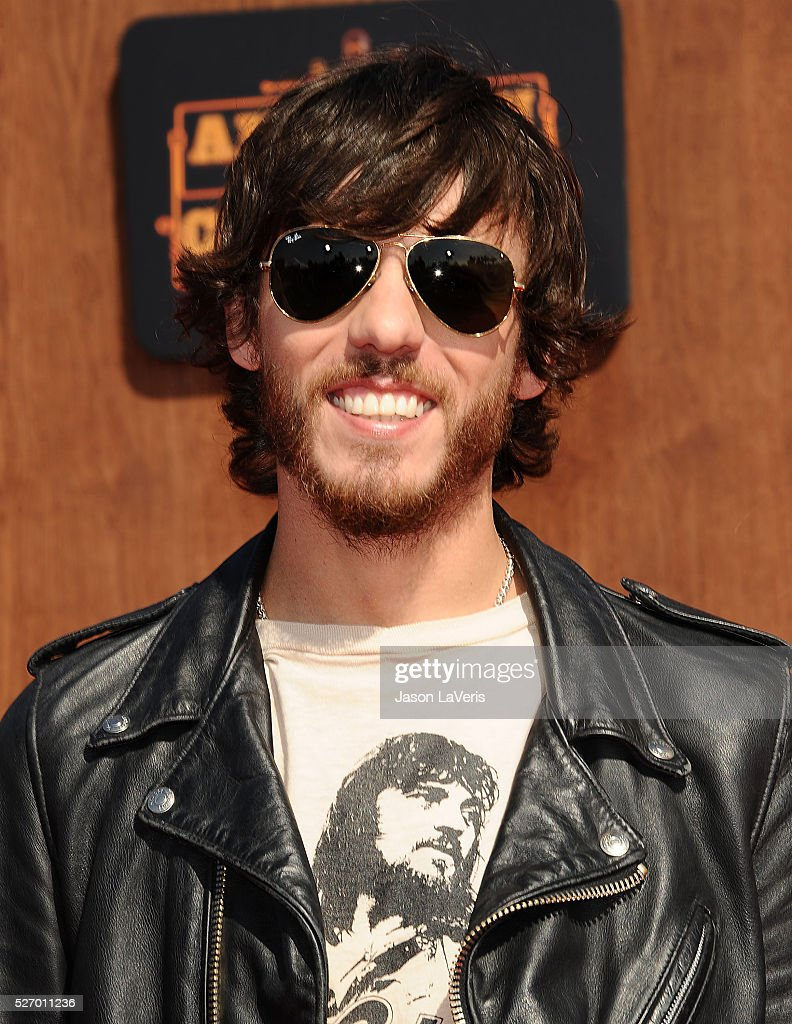 Singer <a gi-track='captionPersonalityLinkClicked' href=/galleries/search?phrase=Chris+Janson&family=editorial&specificpeople=2082639 ng-click='$event.stopPropagation()'>Chris Janson</a> attends the 2016 American Country Countdown Awards at The Forum on May 01, 2016 in Inglewood, California.