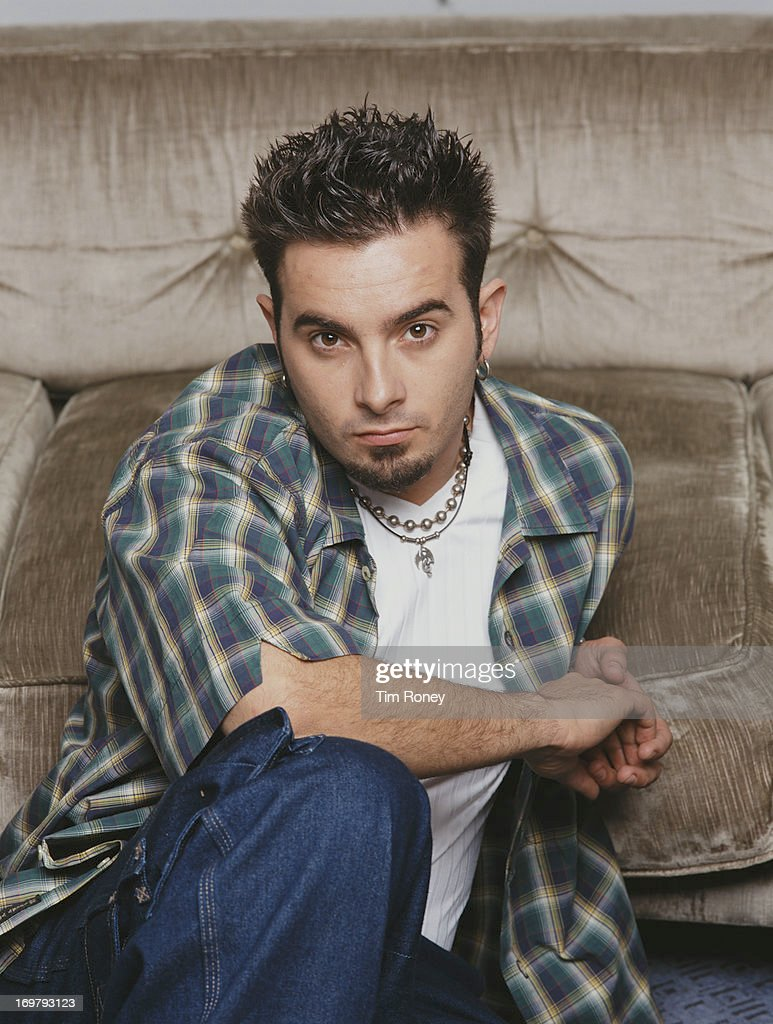 Singer Chris Kirkpatrick of American boy band 'N Sync, circa 2001.