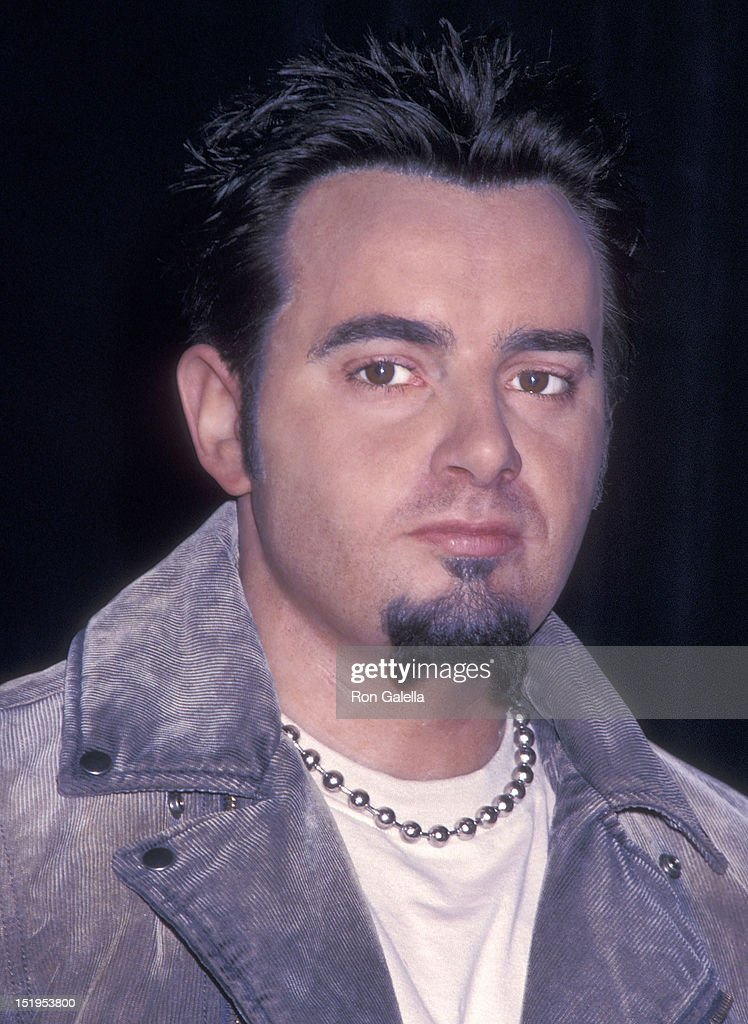Singer <a gi-track='captionPersonalityLinkClicked' href=/galleries/search?phrase=Chris+Kirkpatrick+-+Singer&family=editorial&specificpeople=216475 ng-click='$event.stopPropagation()'>Chris Kirkpatrick</a> of NSYNC wax figure unveiled on December 11, 2001 at Madame Tussauds in New York City.