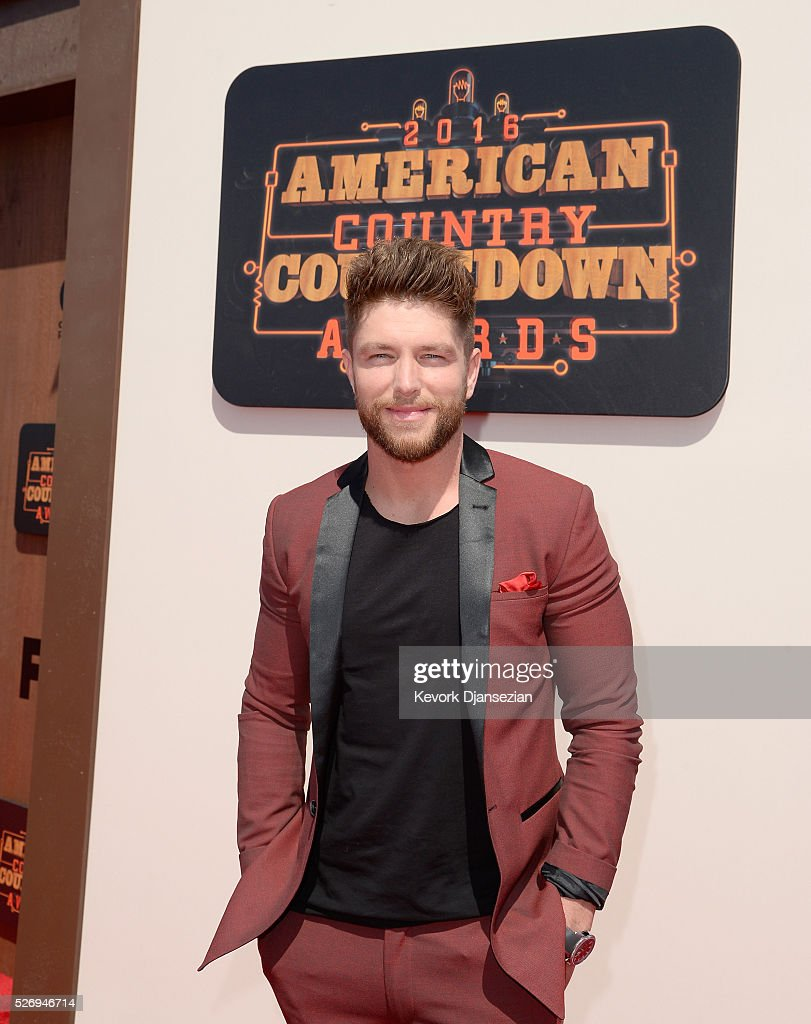 Singer Chris Lane attends the 2016 American Country Countdown Awards at The Forum on May 1, 2016 in Inglewood, California.