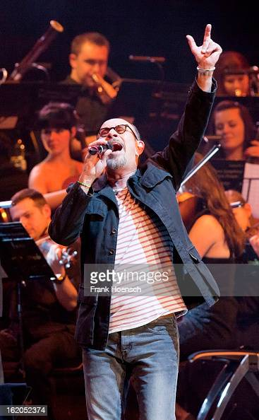 Singer Chris Thompson performs live during 'Rock meets Classic 2013' at the MaxSchmelingHalle on February 18 2013 in Berlin Germany
