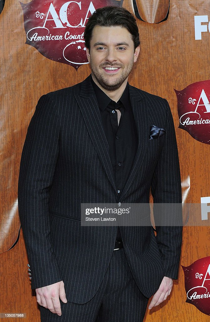 Singer Chris Young arrives for the American Country Awards at the MGM Grand Garden Arena on December 5, 2011 in Las Vegas, Nevada.