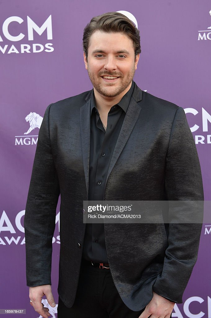 Singer Chris Young attends the 48th Annual Academy of Country Music Awards at the MGM Grand Garden Arena on April 7, 2013 in Las Vegas, Nevada.