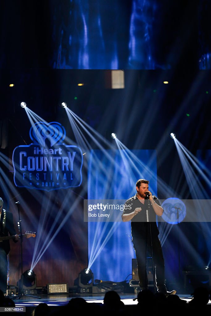 Singer Chris Young performs onstage during the 2016 iHeartCountry Festival at The Frank Erwin Center on April 30, 2016 in Austin, Texas.