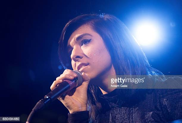 Singer Christina Grimmie performs in concert at Irving Plaza on March 10 2016 in New York City