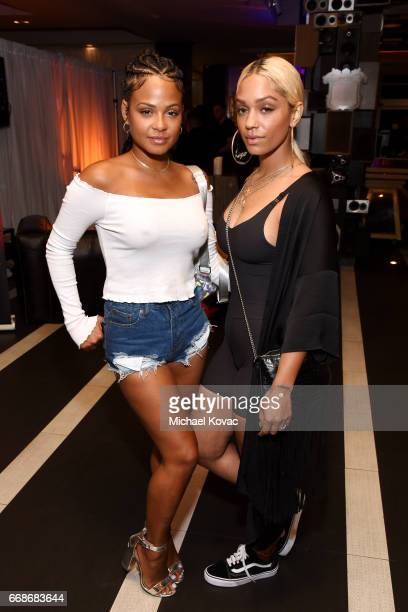 Singer Christina Milian and vocalist Paloma Ford celebrate a Toast to Summer with the NEW Limited Edition CIROC Summer Colada at the Hard Rock Hotel...