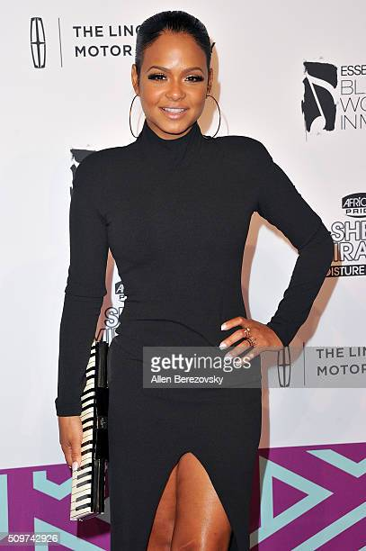 Singer Christina Milian attends ESSENCE 7th Annual Black Women In Music at Avalon Hollywood on February 11 2016 in Los Angeles California