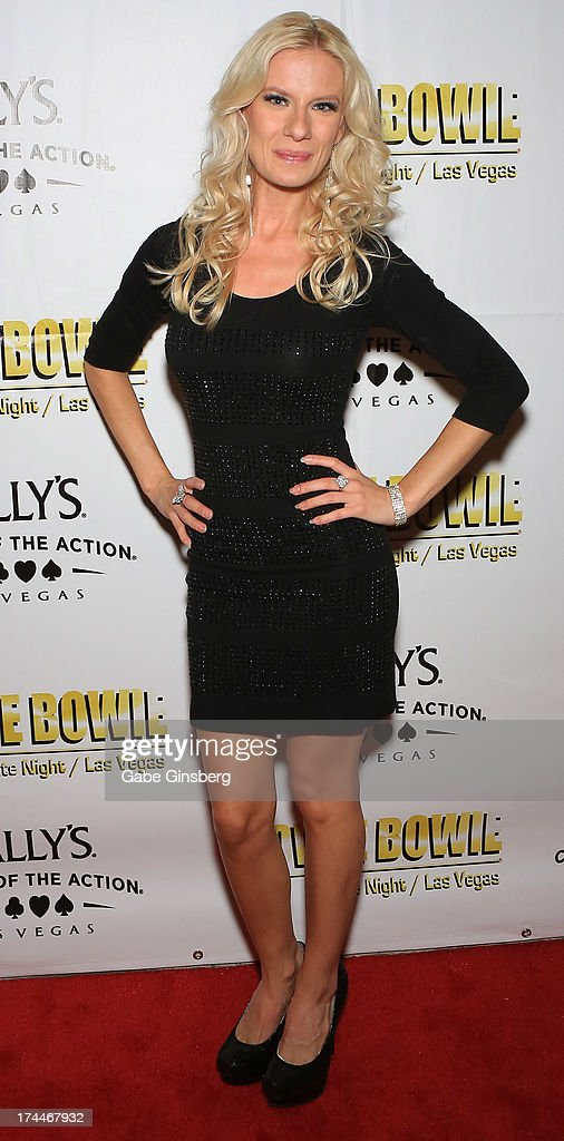 Singer Christina Shaw of Zowie Bowie arrives at the 'Zowie Bowie Late Night' show at Bally's Las Vegas on July 25, 2013 in Las Vegas, Nevada.
