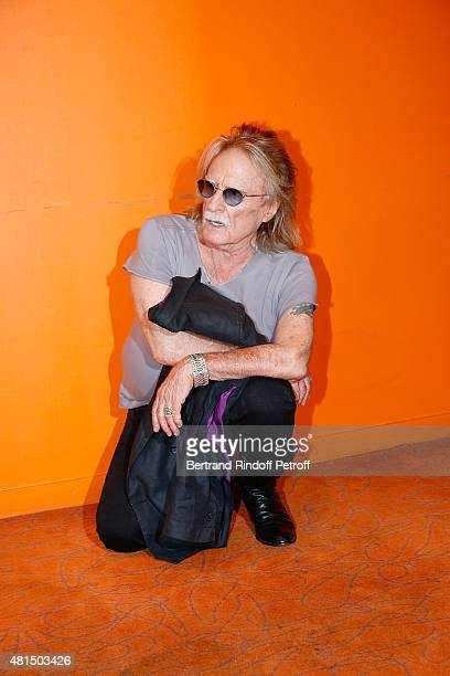 Singer Christophe attends 'les Betises' premiere at Cinema Gaumont Opera on July 21 2015 in Paris France