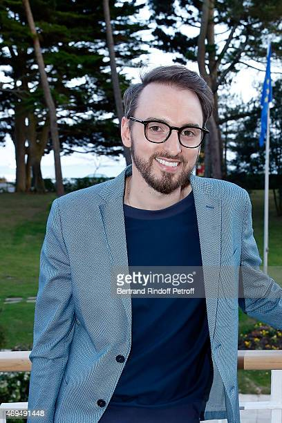 Singer Christophe Willem attends the dinner for the reopening of the Hotel Royal of the group Barriere of La Baule on April 11 2015 in La Baule France