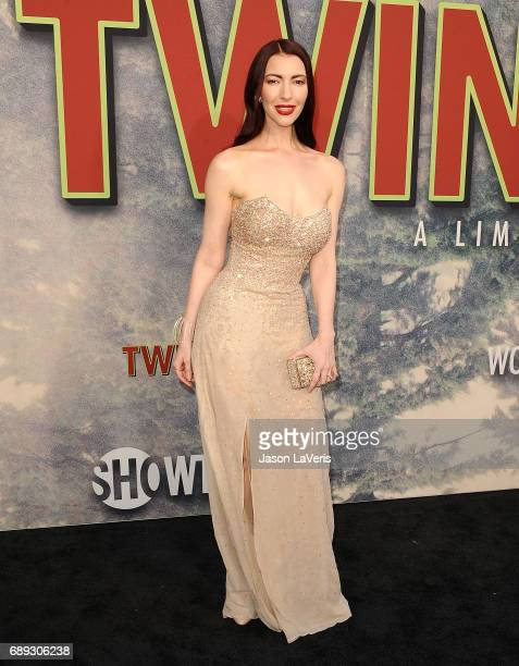 Singer Chrysta Bell attends the premiere of 'Twin Peaks' at Ace Hotel on May 19 2017 in Los Angeles California