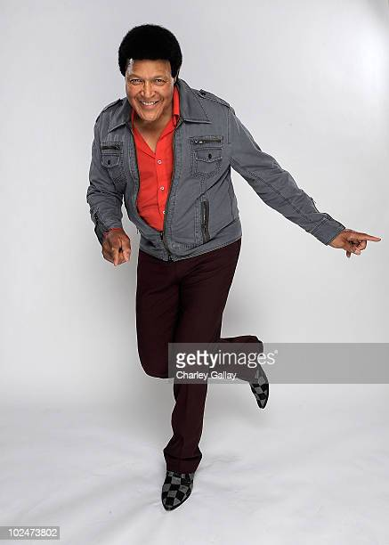 Singer Chubby Checker poses for a portrait at the 37th Annual Daytime Entertainment Emmy Awards held at the Las Vegas Hilton on June 27 2010 in Las...