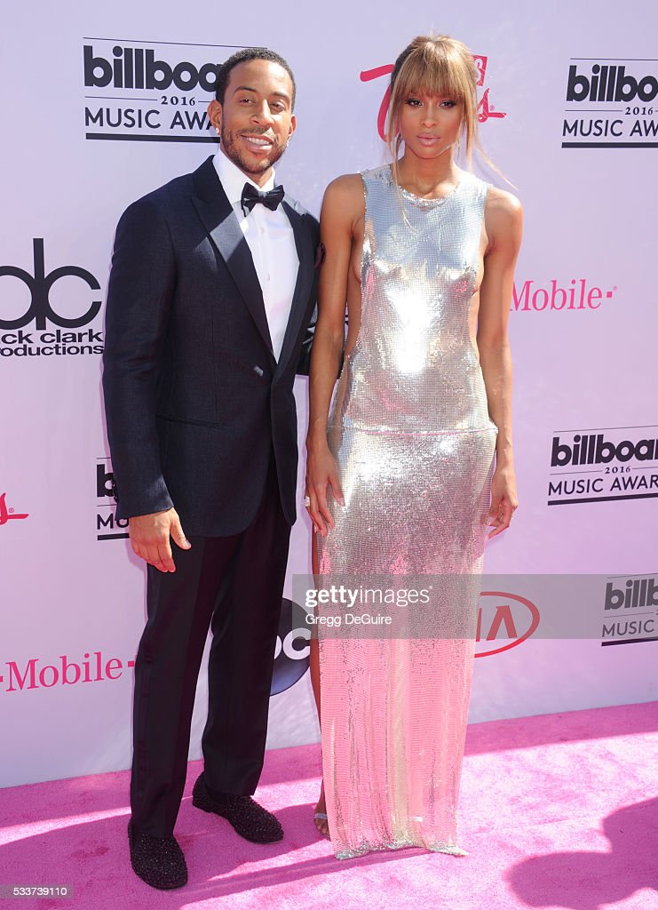 Singer Ciara and rapper Ludacris arrive at the 2016 Billboard Music Awards at T-Mobile Arena on May 22, 2016 in Las Vegas, Nevada.