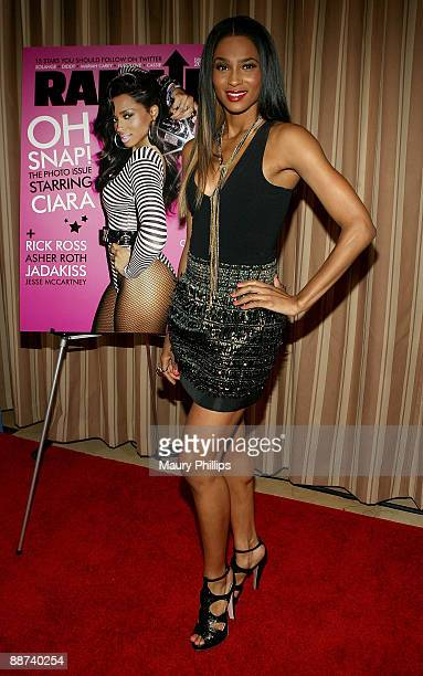 Singer Ciara arrives at RapUp Magazine's 4th Anniversary and Summer Issue Release Party at the Sunset Tower on June 26 2009 in West Hollywood...