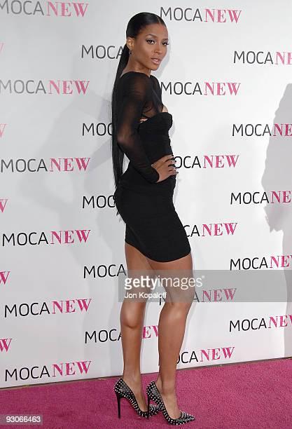 Singer Ciara arrives at The MOCA New 30th Anniversary Gala at MOCA Grand Avenue on November 14 2009 in Los Angeles California