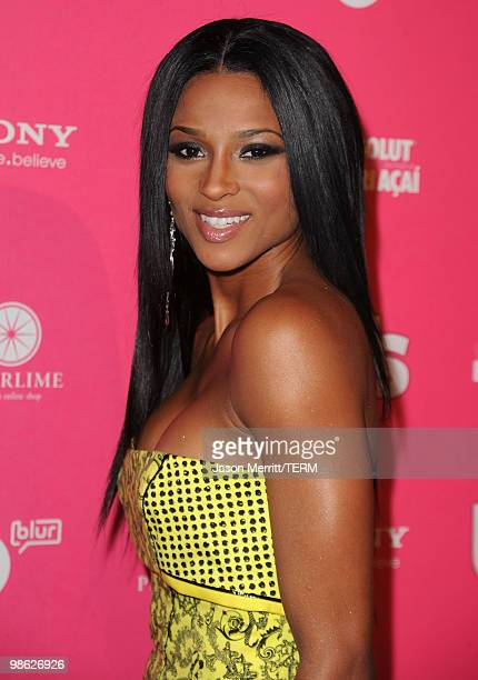 Singer Ciara arrives at the Us Weekly Hot Hollywood Style Issue celebration held at Drai's Hollywood at the W Hollywood Hotel on April 22 2010 in...