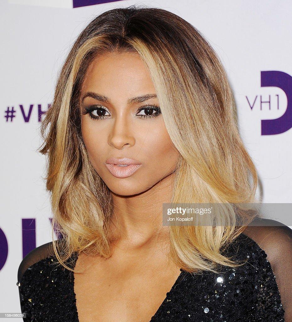 Singer Ciara arrives at the 'VH1 Divas' 2012 at The Shrine Auditorium on December 16, 2012 in Los Angeles, California.