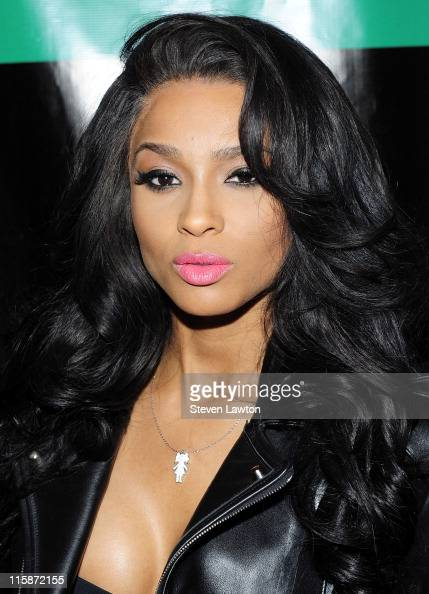 Singer Ciara arrives to host an evening at the Chateau Nightclub Gardens at the Paris Las Vegas on June 10 2011 in Las Vegas Nevada