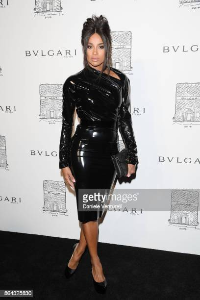 Singer Ciara attends a party to celebrate the Bvlgari Flagship Store Reopening on October 20 2017 in New York City