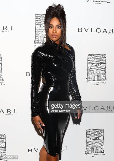 Singer Ciara attends Bulgari 5th Avenue flagship store opening on October 20 2017 in New York City