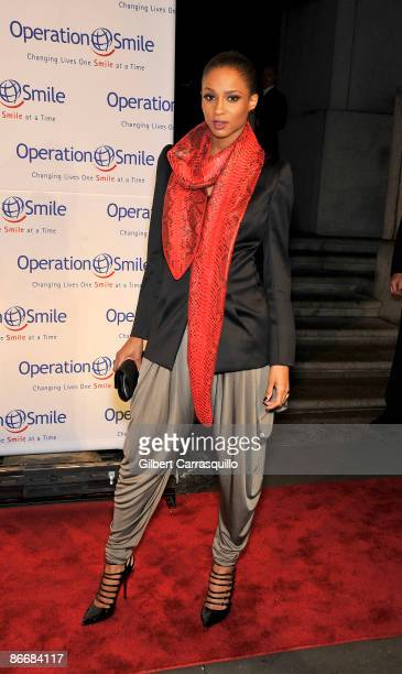 Singer Ciara attends Operation Smile Presenting The 2009 Smile Event at Cipriani Wall Street on May 7 2009 in New York City