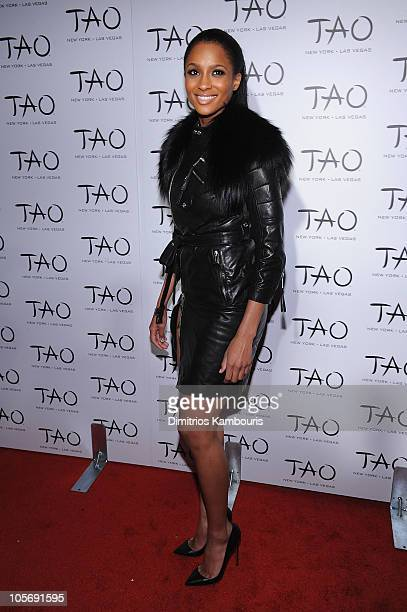 Singer Ciara attends the 10th anniversary party of TAO New York at TAO on October 16 2010 in New York City