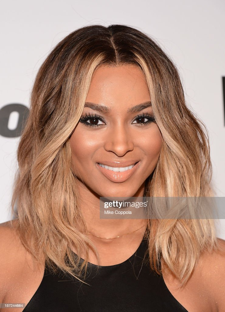 Singer Ciara attends the 2012 Billboard Women In Music Luncheon at Capitale on November 30 2012 in New York City