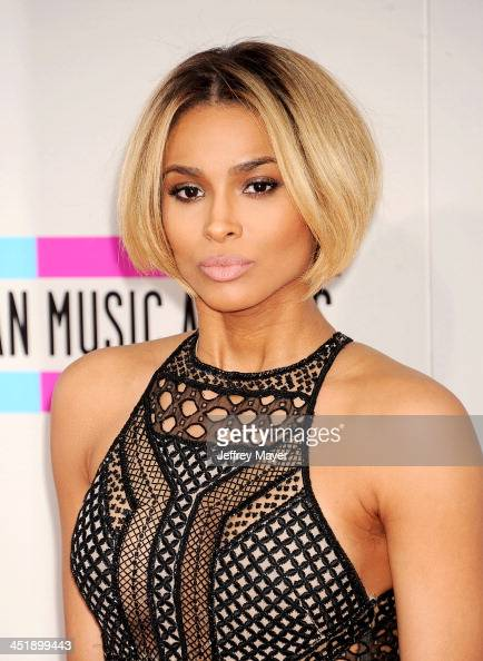 Singer Ciara attends the 2013 American Music Awards at Nokia Theatre LA Live on November 24 2013 in Los Angeles California