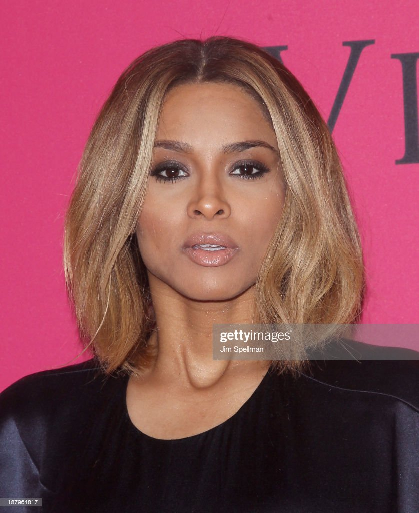 Singer Ciara attends the 2013 Victoria's Secret Fashion Show at Lexington Avenue Armory on November 13, 2013 in New York City.