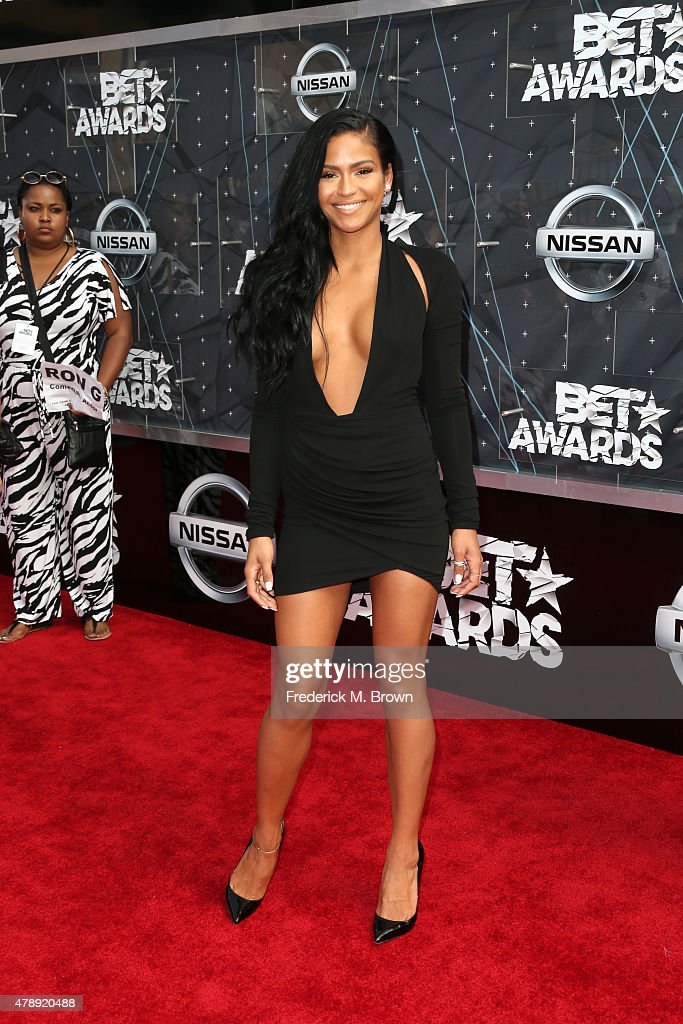 Singer Ciara attends the 2015 BET Awards at the Microsoft Theater on June 28 2015 in Los Angeles California