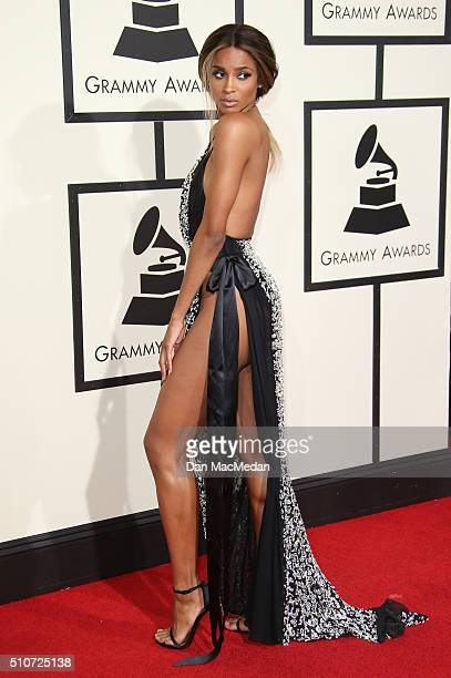 Singer Ciara attends The 58th GRAMMY Awards at Staples Center on February 15 2016 in Los Angeles California