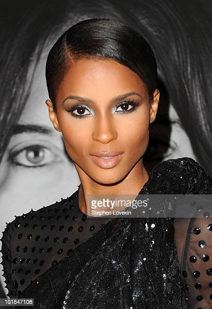 Singer Ciara attends the closing of Marina Abramovic's 'The Artist is Present' hosted by Givenchy at The Museum of Modern Art on June 1 2010 in New...