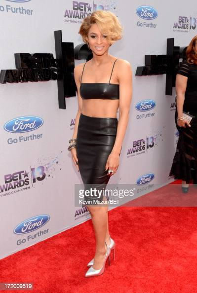 Singer Ciara attends the Ford Red Carpet at the 2013 BET Awards at Nokia Theatre LA Live on June 30 2013 in Los Angeles California