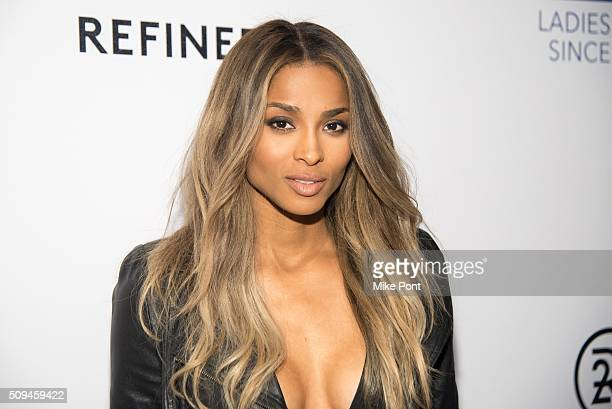 Singer Ciara attends the Keds Centennial Celebration on February 10 2016 in New York City