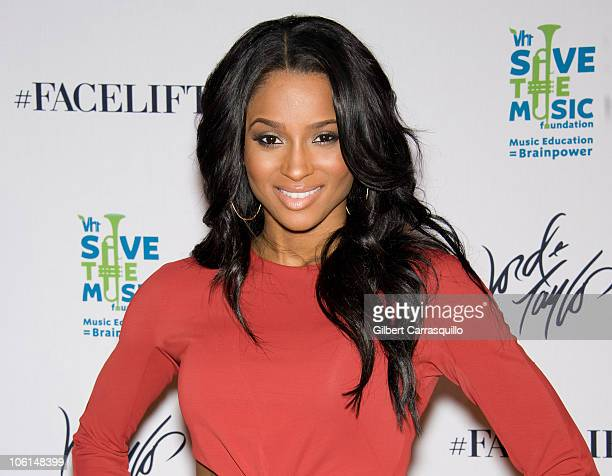 Singer Ciara attends The Lord Taylor 'Ultimate FaceLift' Celebration at Lord Taylor on October 26 2010 in New York City