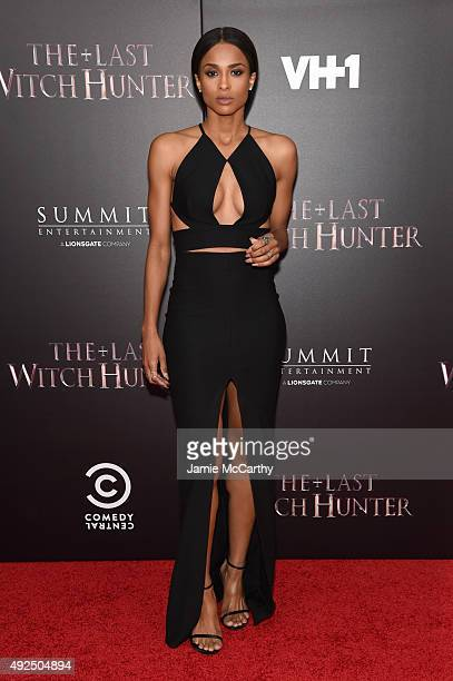 Singer Ciara attends the New York premiere of 'The Last Witch Hunter' at AMC Loews Lincoln Square on October 13 2015 in New York City