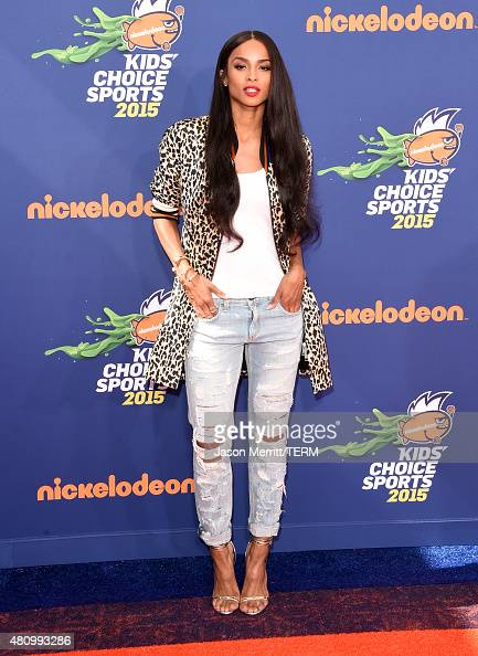 Singer Ciara attends the Nickelodeon Kids' Choice Sports Awards 2015 at UCLA's Pauley Pavilion on July 16 2015 in Westwood California