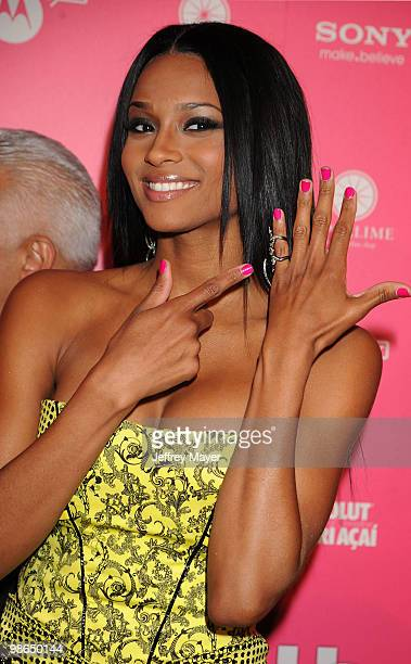 Singer Ciara attends the Us Weekly Hot Hollywood Style Issue Event at Drai's Hollywood on April 22 2010 in Hollywood California