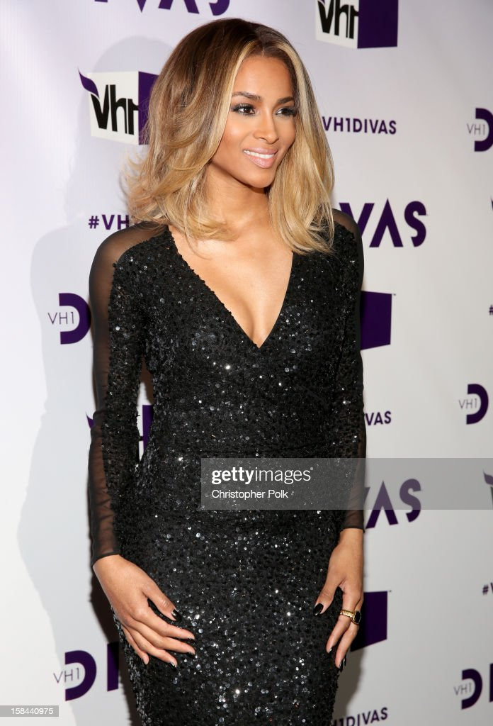 Singer <a gi-track='captionPersonalityLinkClicked' href=/galleries/search?phrase=Ciara+-+Chanteuse&family=editorial&specificpeople=11647122 ng-click='$event.stopPropagation()'>Ciara</a> attends 'VH1 Divas' 2012 at The Shrine Auditorium on December 16, 2012 in Los Angeles, California.