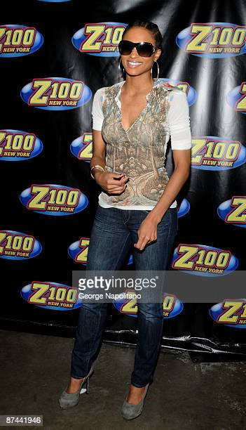 Singer Ciara attends Z100's Zootopia 2009 at the Izod Center on May 16 2009 in East Rutherford New Jersey