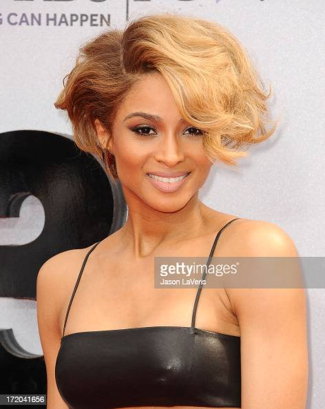 Singer Ciara Harris attend the 2013 BET Awards at Nokia Theatre LA Live on June 30 2013 in Los Angeles California