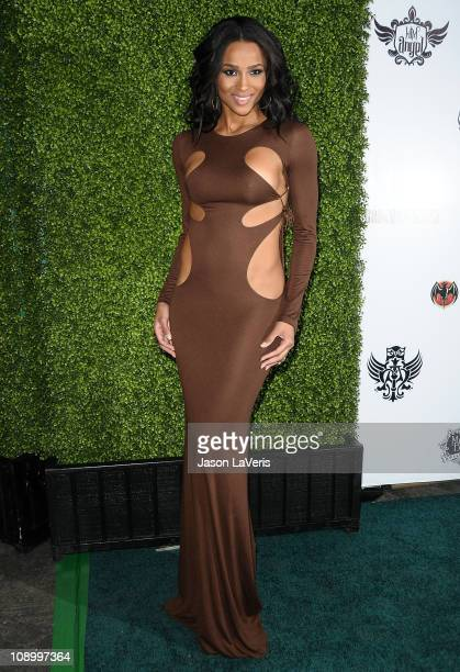 Singer Ciara Harris attends the 7th annual Peapod benefit concert at The Henry Fonda Theater on February 10 2011 in Hollywood California