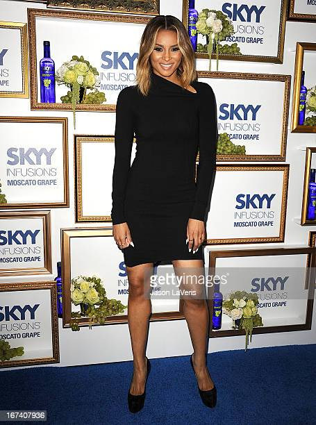 Singer Ciara Harris attends the House Of Moscato launch party at Greystone Manor Supperclub on April 24 2013 in West Hollywood California