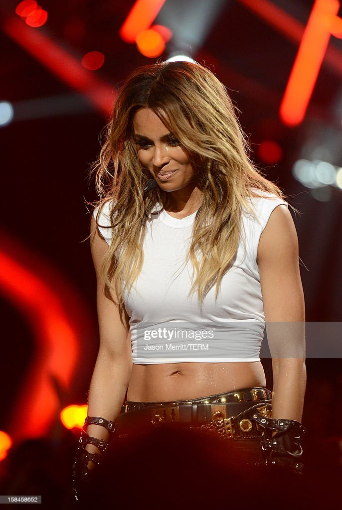 Singer Ciara onstage at 'VH1 Divas' 2012 held at The Shrine Auditorium on December 16, 2012 in Los Angeles, California.