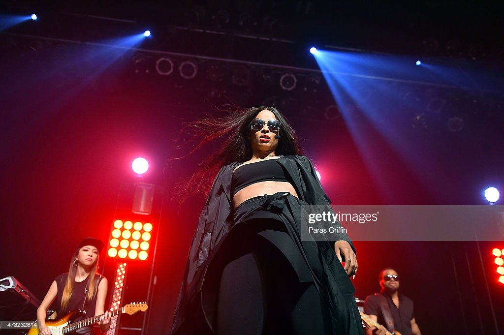 Singer Ciara performs at Center Stage on May 13 2015 in Atlanta Georgia