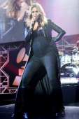 Singer Ciara performs at the 2014 HYUNDAI / GRAMMY's celebration activation at Los Angeles Convention Center on January 26 2014 in Los Angeles...